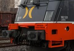 20_2011_01_11_Wanne_Eickel_Üwf_6182_531_DISPO_182.531_HCTOR_LaMotta (ruhrpott.sprinter) Tags: ruhrpott sprinter deutschland germany allmangne nrw ruhrgebiet gelsenkirchen lokomotive locomotives eisenbahn railroad rail zug train reisezug passenger güter cargo freight fret herne wanne eickel wanneeickel üwf mrcedispolokdispo dispo nacco nts hctor siemens hectorrail kenobi lamotta 1275 275 6182 182 241 189 6189 es64u2 es 64 u2 kraussmaffei krauss maffei outdoor logo natur graffiti