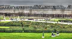 view from the Louvre (albyn.davis) Tags: paris hdr france europe travel scene sculpture art louvre tuilleries