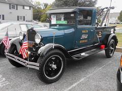 1929 Ford Model AA Wrecker by Weaver (splattergraphics) Tags: 1929 ford modelaa wrecker towtruck weaver carshow carlisle fallcarlisle carlislepa