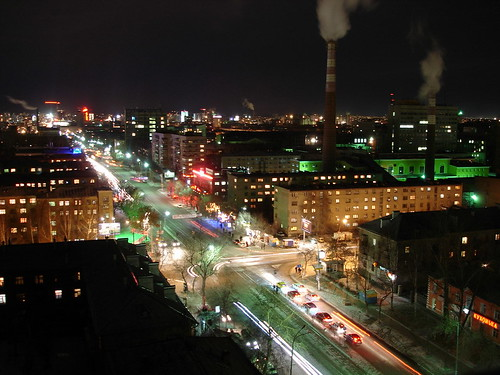 Ночной город ©  ayampolsky