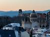 Madrid At Dusk (David J. Greer) Tags: madrid spain skyline cityscape dusk sunset mountains sky