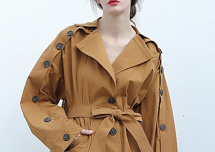 Very Special Button Trench