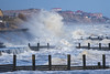 The sea wall struggling to keep back the sea in Norfolk (Geordie_Snapper) Tags: bacton bactonholiday canon7d2 canon2470mm coldday eastanglia holidaybacton march norfolk roughsea winter