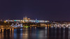 Prague Castle! (karindebruin) Tags: charlesbridge czechrepublic moldau praguecastle stvitus tjechie vltava city langesluitertijden longexposure nightshot water