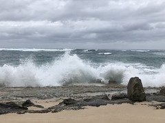 Breakers (colonelchi) Tags: iphone 7 iphone7 iphone7plus apple phone smartphone trip vacation family wedding weekend tropical island familyvacation familywedding hawaii hawaiianisland hawaiianislands oahu northshore winter wintertrip islandgetaway getaway relaxation relax beach shore green tropicalisland islands unitedstates unitedstatesofamerica