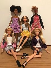 Something Kinda Ooooh.... (Gavapillar) Tags: barbiekira barbiekayla barbiegoddess barbielea barbieoriginal barbiecurvy barbiepetite barbiedoll barbie
