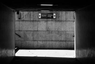 An underpass