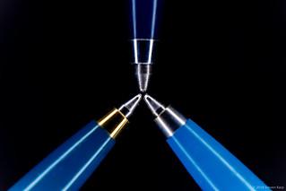 Stylos de trois- Vintage Parker Pens ©2018 Steven Karp