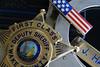 The Boys in Blue (xJosh xHammond) Tags: macro monday blue bloods thin line boys police deputy sheriff flag badge handcuffs