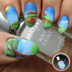 Freehand Sunbathing Baby (ithinitybeauty) Tags: rabbit bunny animals nature landscape illustration design paint painting acrylic sky scenery nails nail art nailart nailsart inspire polish lacquer manicure beauty beautyblogger nailswag nailpolish notd nailsoftheday nails2inspire nailartwow nailartist nailblog nailporn naildesign nailvarnish nailblogger nailedit nailery nailfeature