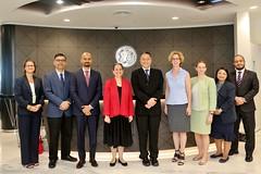 Ambassador Kamala Lakhdhir visit General Electric (United States Embassy Kuala Lumpur) Tags: ambassador kamala lakhdhir visit general electric