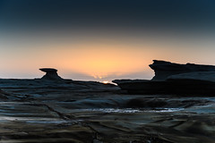 Sunrise over the Headland (Merrillie) Tags: daybreak sunrise spoonbay nature australia surf wamberal centralcoast newsouthwales waves earlymorning nsw morning beach ocean sea landscape sky coastal waterscape outdoors seascape water coast dawn seaside