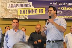Almoço com prefeitos em Arapongas