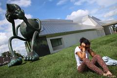 Thinking (ryorii) Tags: art contemporary modern kempermuseum outdoor kansascity missouri usa united states