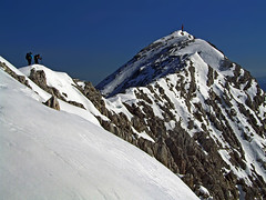 Grosser Priel summit ridge (Vid Pogacnik) Tags: austria mountain outdoors hiking landscape totesgebirge grosserpriel