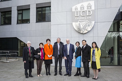 Singapore Government Visit to UCD (SteMurray) Tags: review singapore deputy prime minister government ucd university college dublin ireland irish campus event science meeting group delegation demonstration students presentation board room coffee tea collaboration