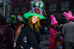 EasterParade2018(NYC)6 (bigbuddy1988) Tags: easter digital new nikon flash strobe portrait photography people parade festival wide wideangle newyork woman tokina manhattan urban d7000 sb600