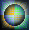 Dirac by Vasarely 1978 069a (Andras, Fulop) Tags: vasarely acryl canvas painting museum exhibition artwork opart nikon p7700