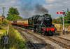 DSC05314 Station Approch (Rattyman76) Tags: sony a350 sigma2470f28 stanier mogul locomotive signals svr arley