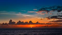 Orange Is The New Blue (Jörg Bergmann) Tags: islascanarias lagomera panasonic20mmf17 puestadesol vallegranrey atardecer blue bluesky canarias canaryislands clouds cloudscape españa gm1 gomera lumix m43 mft orange panasonic sky skyscape spain sun sunburst sunset travel vacation dusk twilight wallpaper 20mmf17 20mm