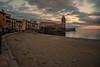 Evening light...... (Dafydd Penguin) Tags: evening light village town harbour harbor port beach sea sand water quay castle promenade collioure sw france leica m10 elmarit 21mm f28