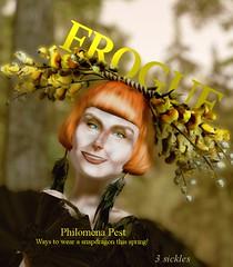 FROGUE: Spring Edition! (ℐshwari Sting) Tags: mischiefmanaged secondlife virtual virtualworld harrypotter harry potter magic philomena pest magazine fashion advice whimsical