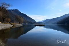 Lago di Ledro - Italy (Biagio ( Ricordi )) Tags: lago lake montagna trentino italy ledro riflessi