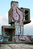 IMG_0287 (trevor.patt) Tags: gresleri nevio parmeggiani architecture modernist brutalist concrete religious ruin castellechio bologna it graffiti flamingo trespass