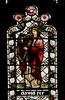 Tamworth, Staffordshire, St. Editha's, St. George's chapel, east window, detail (groenling) Tags: tamworth staffordshire staffs england britain greatbritain gb uk stedithas chapel stgeorgeschapel glass window stainedglass burnejones morrisco king david harp mmiia