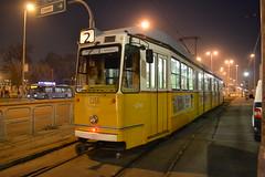 BKV Zrt 1356 (Will Swain) Tags: közvágóhíd budapest 7th january 2018 tram trams light rail railway rails transport travel europe hungary east eastern county country central capital city centre bkv zrt 1356