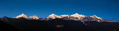 Meili Xue Shan 梅里雪山 (Albert Photo) Tags: meilixueshan 梅里雪山 peak top mountainrange china yunnan sky snow sunset lanscape forest nature religion culture
