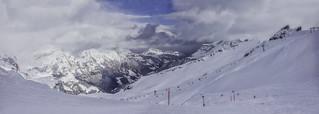 Somewhere on the top of Mt Titlis, Engelberg, Switzerland