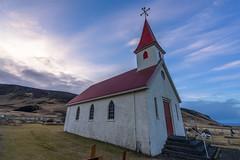 Reyniskirkja (JeffMoreau) Tags: churches iceland icelandic church reyniskirkja black sand beach vik landscape sony a7ii 16mm