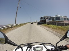 2015 Greece - May 7 - ATV Island Tour (Isabelle Brisson) Tags: gopro europe greece 2015 may cyclades aegean mediterranean mediterraneansea solo solofemale solotraveller solofemaletraveller friends santorini island volcano atv
