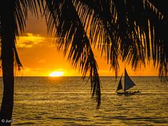 Sunset at Boracay, Philippines (Jun C Photography) Tags: ca mft u43 sunset boracay sandiego islands caticlan microfourthirds omd m43 em5 olympus