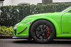 Flaps. (FB CS) Tags: porsche 911 997 gt3 gt3rs 40 gt3rs40 green birch lizard carspotting supercars köln spoiler wing aero aerodynamics racing