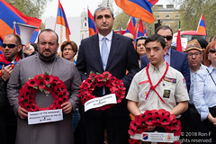 Armenian Genocide Commemoration March - 21 April 2018 (The Weekly Bull) Tags: armenia armenian cenotaph london marblearch ottoman turkey whitehall commemoration demonstration genocide genocidedenial holocaust protest