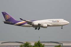 HS-TGF B747-400 Thai (JaffaPix +5 million views-thanks...) Tags: hstgf b747400 747 b747 b744 boeing jumbo bkk vtbs bangkokairport bangkokbkk suvarnabhumi aeroplane aircraft airplane aviation airline airliner davejefferys jaffapix jaffapixcom flying flight tha tg thai thaiairways