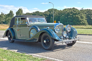 Bentley 4¼ LITRE Allweather Tourer 1937 (3506)