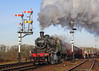 Ivatt Mogul (Treflyn) Tags: ivatt 2mt mogul 260 46521 steam semaphore signal swithland sidings great central railway gcr tle timeline events photo charter