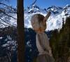 Bois curieux... Nosy wood... (CHAM BT) Tags: arbre meleze sculpture bois perchoir nez foret neige snow forest wood tree larch nose branch sourire smile
