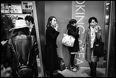 Dōgenzaka, Shibuya-ku, Tōkyō-to (GioMagPhotographer) Tags: tōkyōto peoplegroup girl dōgenzaka afterdark shibuyaku night streetscene japanproject japan leicamonochrom dgenzaka tokyo tkyto