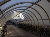 Velo tunnel 2 (flickrolf) Tags: arch architecture bycicle velo light parking
