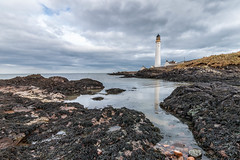 Scurdie Ness (Gordon Nicoll) Tags: lighthouse scotland rocks water montrose sky scurdieness scenery coast landscape sea