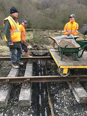 Peter, Lee and Phill ready for place concrete in UTX 19Mar18