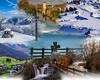 Montage photos 4 saisons (http://coline-buch.fr/) Tags: montage montagne photos paysbasque colinebuch nature croix neige