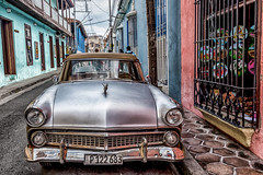 Last Hour in Santiago - 7 (AaronP65 - Thnx for over 13 million views) Tags: santiago cuba classiccar