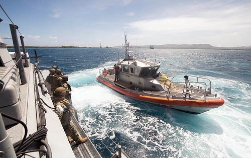 Coast Guard, Navy conduct towing exercise in Apra Harbor, Guam