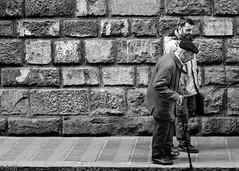 Still going strong (Ramireziblog) Tags: still going strong old man wall bricks stone walking stick canon 6d
