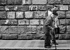 Still going strong (Ramireziblog) Tags: still going strong old man wall bricks stone walking stick canon 6d